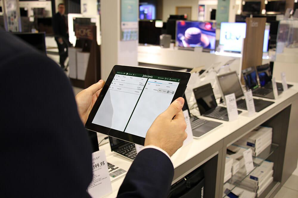 Electronics Retail Queuing App Qudini