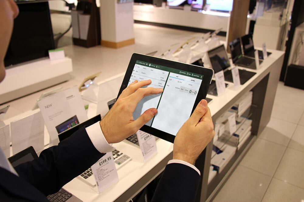 Electronics Store Queuing System Qudini