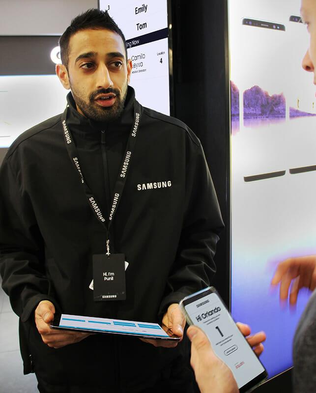 Samsung Store Queuing System Qudini