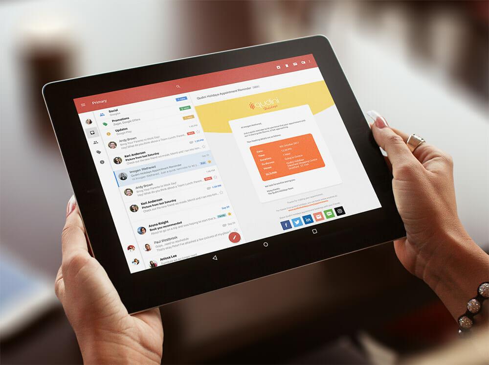 Travel Agency Customer Experience App Qudini