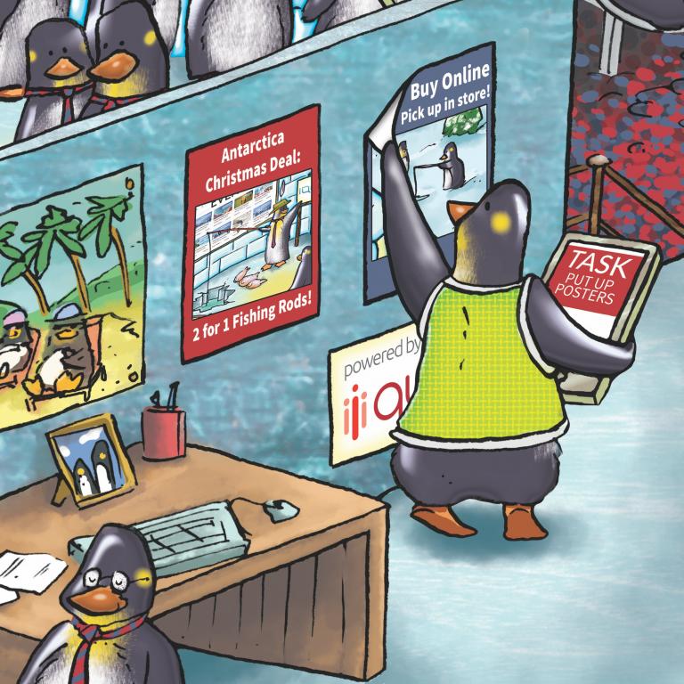 Task Management Software System Penguins In Retail Qudini